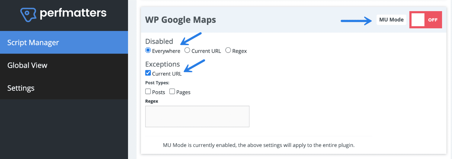 Disable WordPress plugin with MU mode