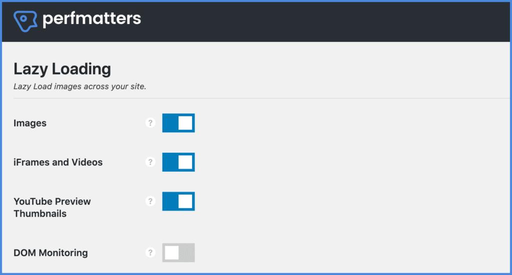 Lazy loading in WordPress