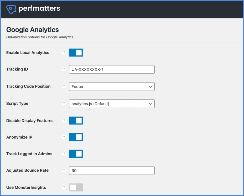 Host Google Analytics locally